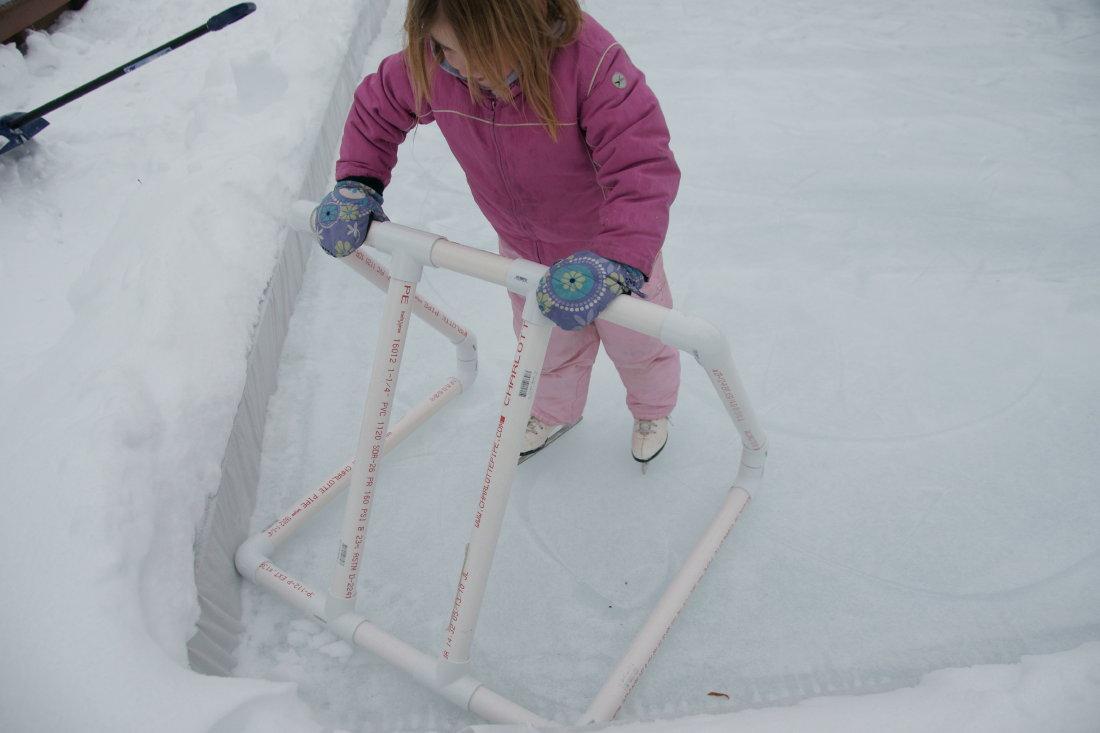 a backyard ice skating rink u2013 capital district fun