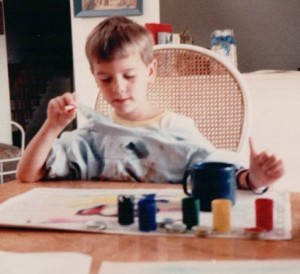 My little brother John, who's currently studying painting at Yale's School of Fine Arts