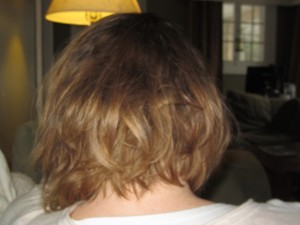 grunge hair back