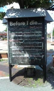When I Die Sign