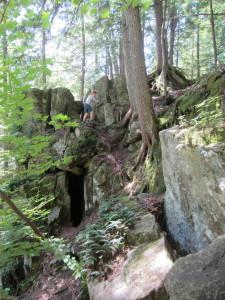 falls hike J climb