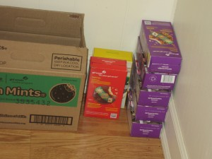 Stockpiling Girl Scout Cookies
