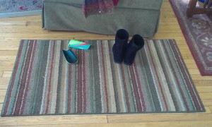 shoe mat